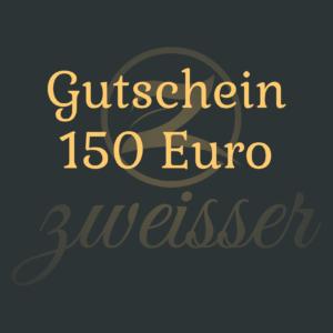 gutschein über 150 Euro